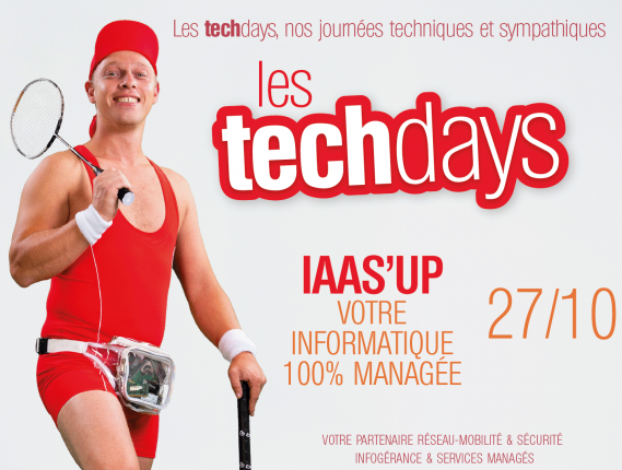 Tech Days IaaS'up !
